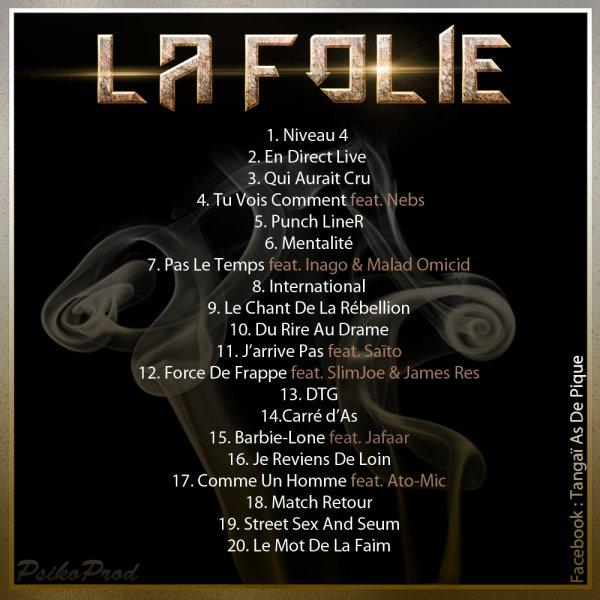 La Folie et la Raison / En Direct Live (2011)