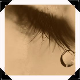Une larme ...