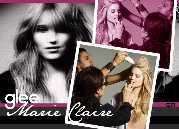 Dianna Agron pour le magazine Marie Claire