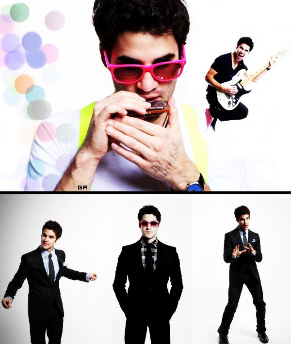 NEW PHOTOSHOOT - Darren Criss - 2010