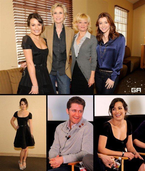 12 Janvier 2010 : Rendez-vous organisé avec les nominés des Golden Globes.