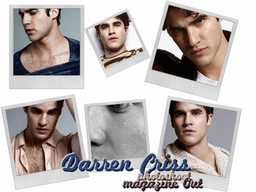 "Darren pour le magazine ""Out"" !"