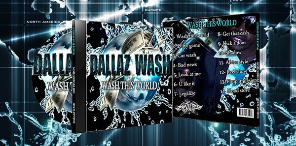 DALLAZ CITY RECORDZ (LABEL CREE PAR DALLAZ WASH)