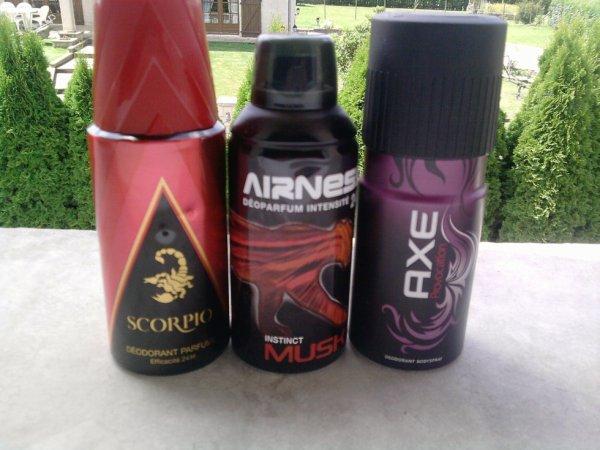 Mes différents parfum ! :D