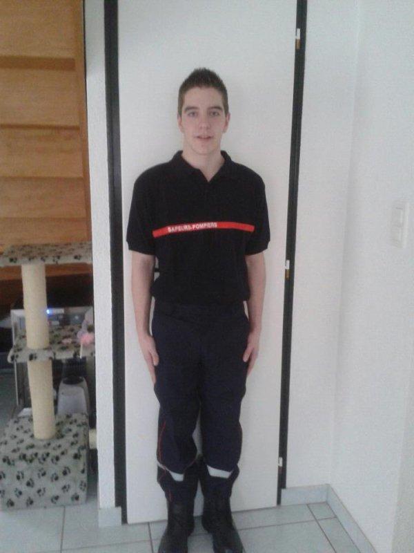 Je suis enfin Pompier Volontaire !