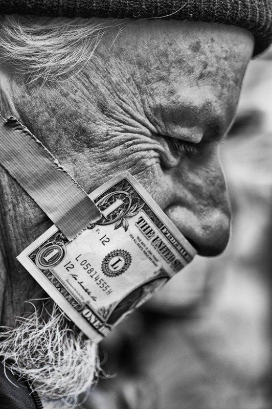 """""""L'argent pourri les gens déjà pourri """""""
