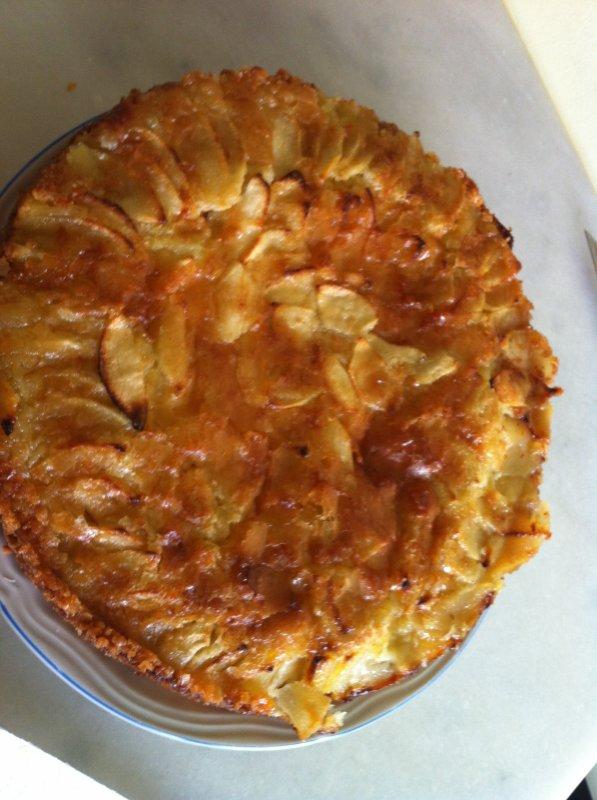 Gâteau a la pomme; ahah j'suis la meilleure !!!