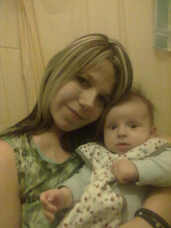 moi et mon fils d'amour <3