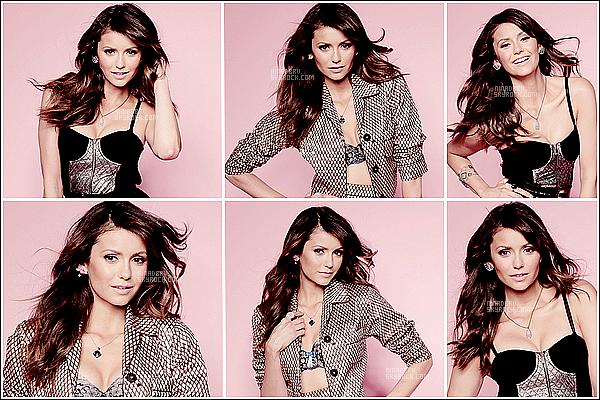 """PHOTOSHOOT : La belle brunette à poser pour le beau magazine nommer """"Cosmopolitan"""" il y à peu. Nina avait réalisé ce shoot en 2013 mais de nouvelle photos on fait apparition il y à peu et autant vous dire qu'elle sont juste magnifique !"""