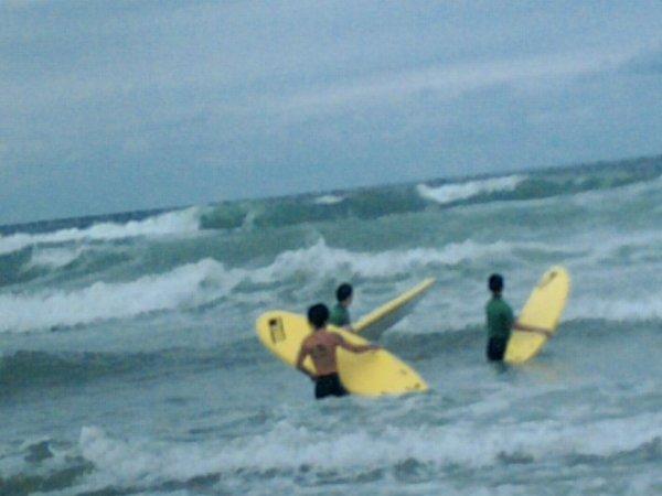 bombannes juillet 2010 surf a carcans plage