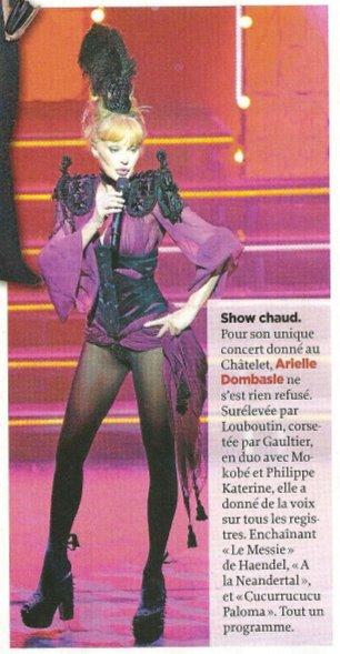 "Article dans ""Le Point"" ♥"
