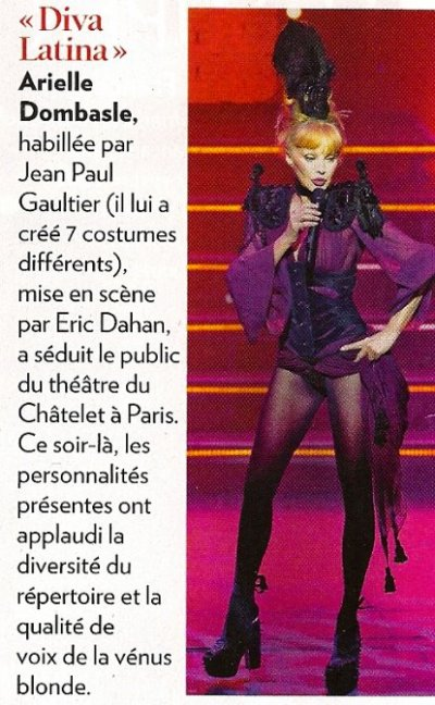 "Article dans ""Paris Match"" ♥"
