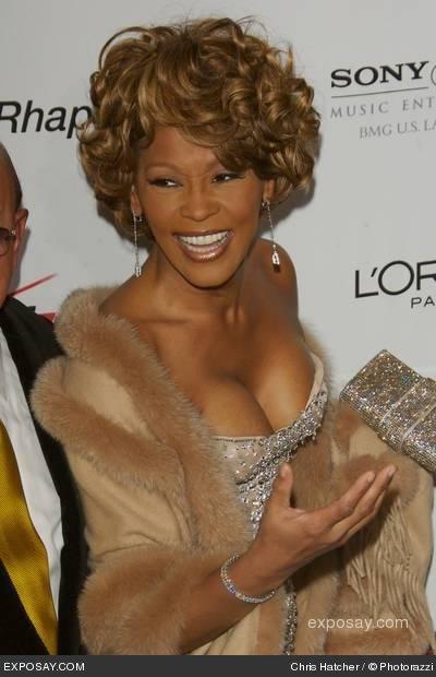 Whitney Houston... Les adieux d'une grande dame ♥