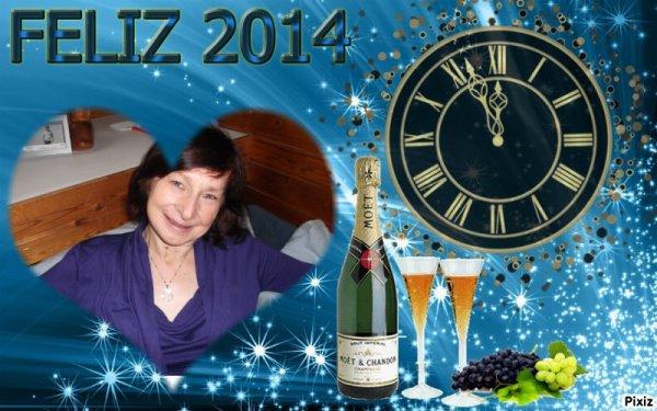 a toutes mes amies et amis du blog, je vous souhaite un bon reveillons et un bon debut d annee 2014, bisousssss