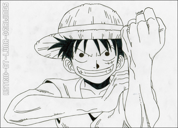 Luffy.