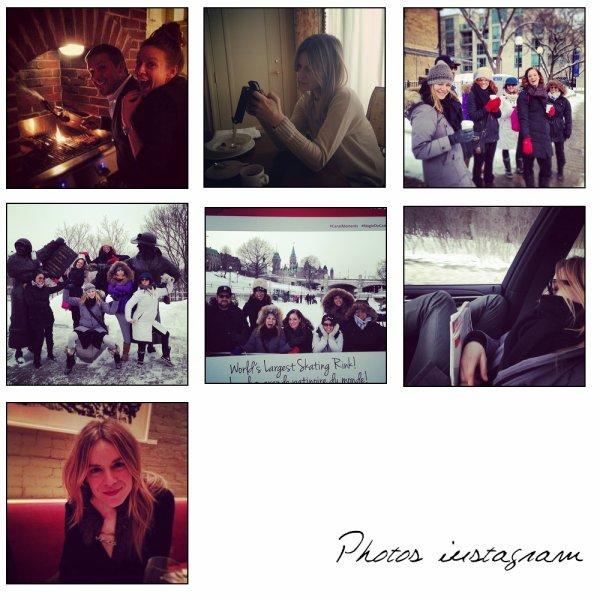 Véronic est sur instagram