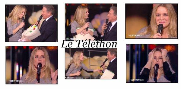 """Véronic a fait un passage dans l'émission """" Du côté de chez Dave """" ainsi qu'à la soirée du """" Téléthon """"."""