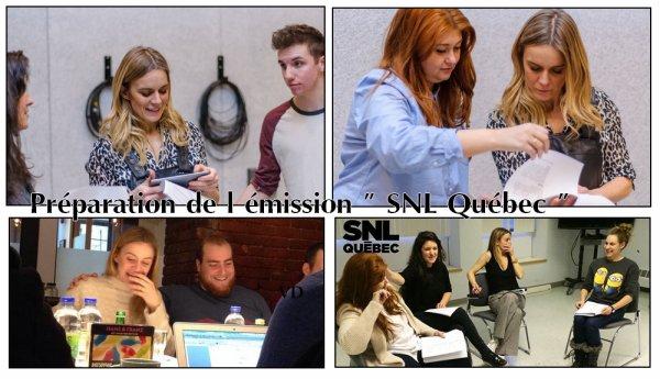La participation  de Véronic à SNL Québec ♥