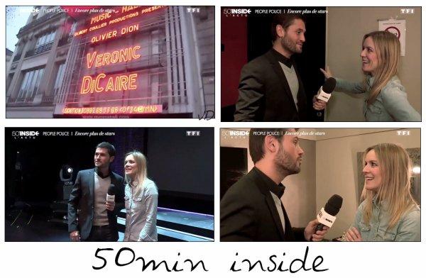 28.02.15 : Petit passage dans 50min inside à l'Olympia sur TF1 et 1.03.15 : Le Journal de 19/20 heures sur France 3