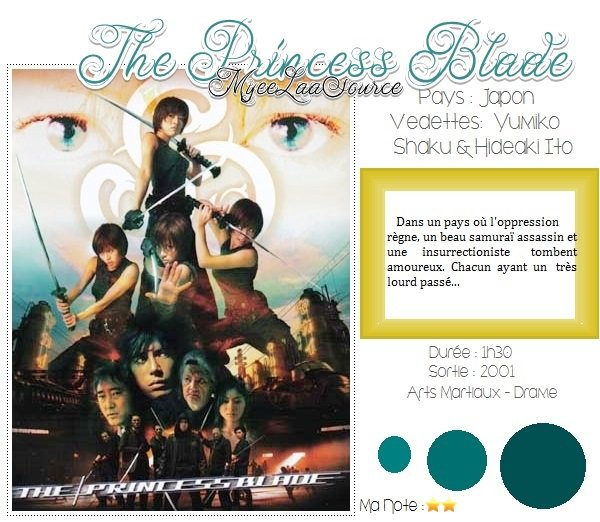 Film : The princess Blade