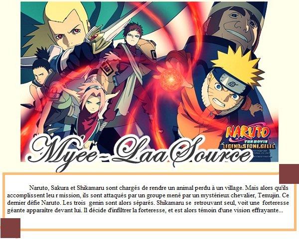 Film : Naruto 2 - La Légende de la pierre de Guélel