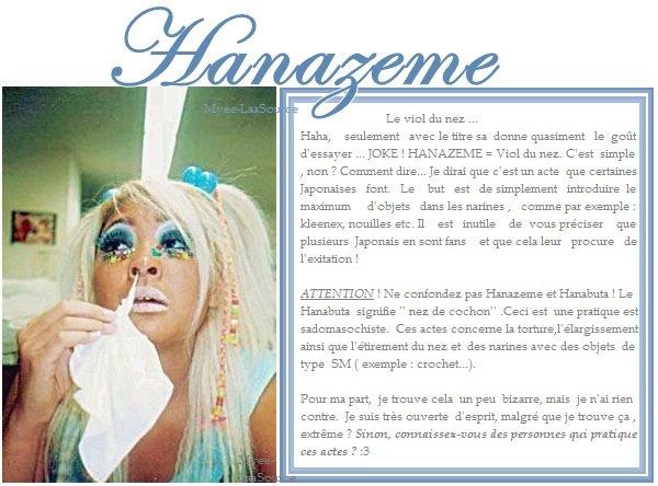 Hanazeme