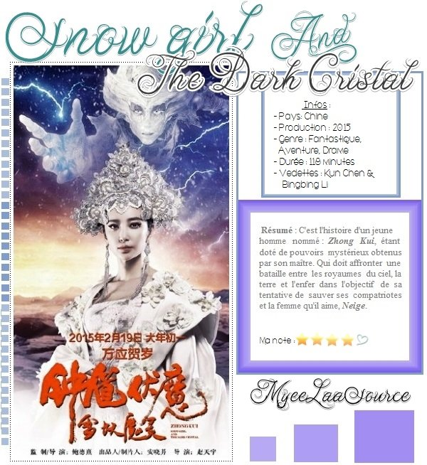 Film : Snow Girl and the Dark Cristal