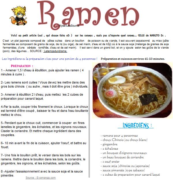 Le '' Ramen ''