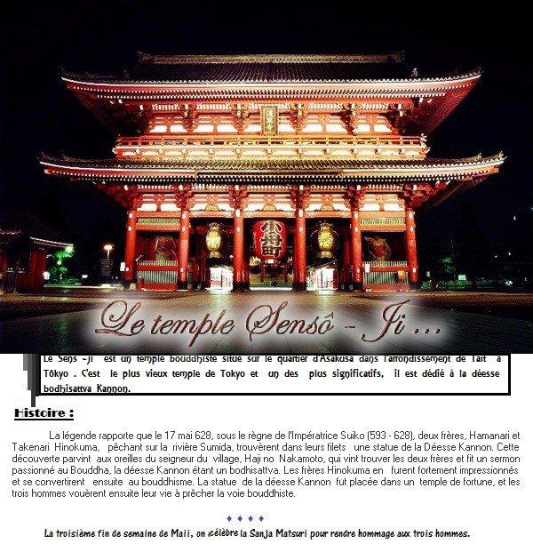 Le temple Sensô-ji