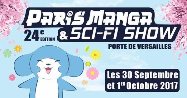 Paris Mangas 30 septembre au 1er octobre 2017