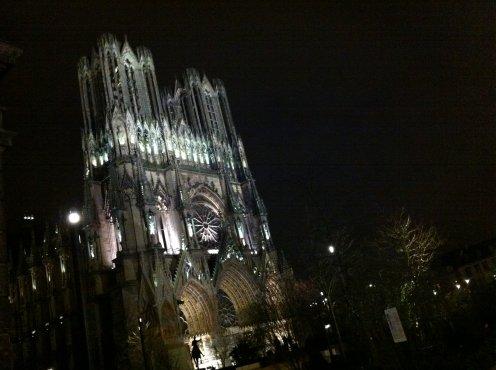 La somptueuse Cathédrale de Reims...!