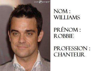 Robbie Williams ?