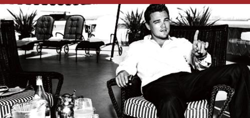 - Leonardo DiCaprio