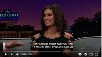 """_ 19/01/2017  •Notre belle Nina était invitée dans le talk-show """"The Late Late Show with James Corden"""".  _"""