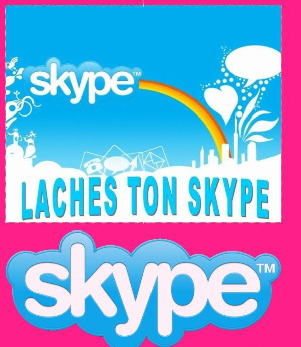Lache ton Skype ici ;)
