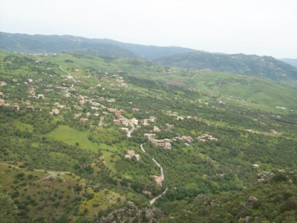 une tres belle vue du village sur AZAGHAR