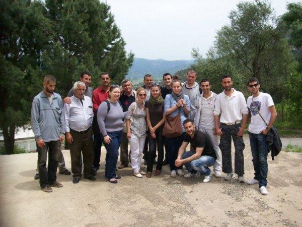une visite des europeens sur mon village  AIT EL KAID