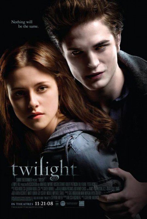 Twilight - Chapitre I - Fascination / Flightless Bird, American Mouth de Iron & Wine (2008)