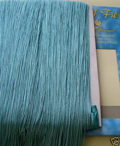 rideau fil bleu turquoise blog de lafoliedesrideaux. Black Bedroom Furniture Sets. Home Design Ideas