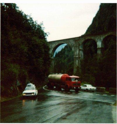 1978,Je rentre de Chamonix en direction de Noirmoutier .