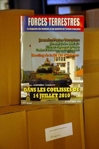 Le numéro 1 de Forces Terrestres Magazine disponible depuis ce matin !!!