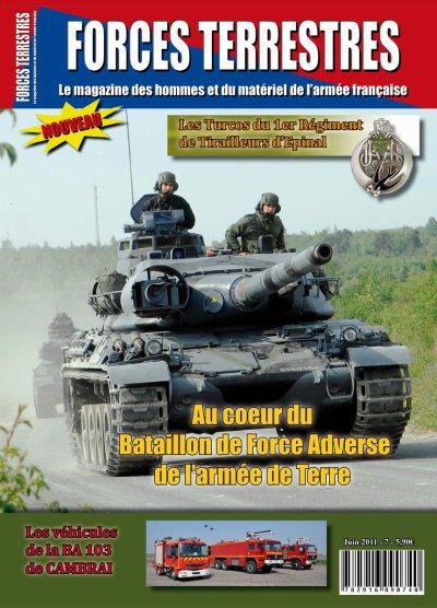 La magazine Forces Terrestres arrive demain en kiosque pour la première fois, je stress !!!!!!!