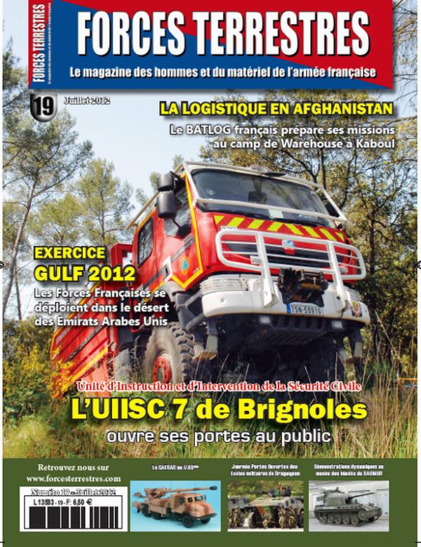 camion de pompiers de la Sécurité Civile