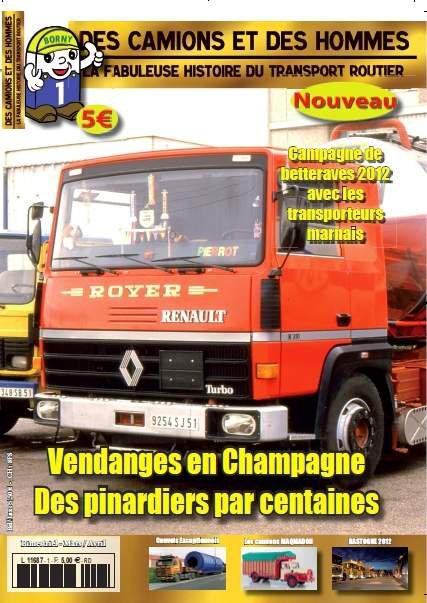 Mon nouveau magazine sur les camions, c'est le 2 mars !!!