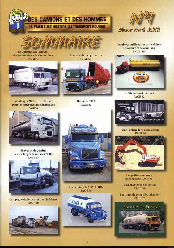 Des Camions et des Hommes
