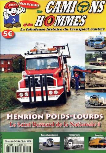 Le n°2 du magazine Des Camions et des hommes est disponible