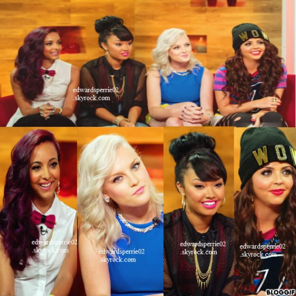 14/08/12 : les little mix à Daybreak .
