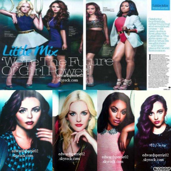 Découvre un tout nouveau shoot des Little Mix. Tu aimes ?