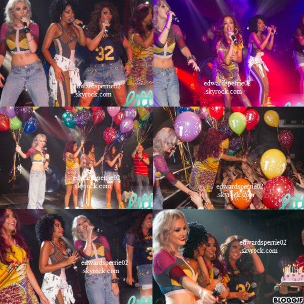 18.08.12 : Les Little Mix ont fait une prestation au G.A.Y Nightclub à Londres.