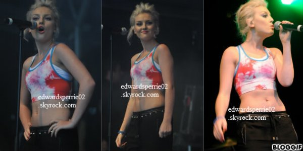 Le 31 août 2012 ~ Les Little Mix ont chanté wings au festival Blackpool Illumanations à Blackpool